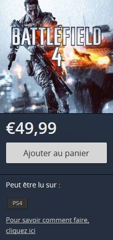 Battlefield 4 promo ps store 18.04.2014
