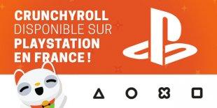 Crunchyroll banniere PlayStation