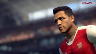 PES 2017 Alexis Sanchez head