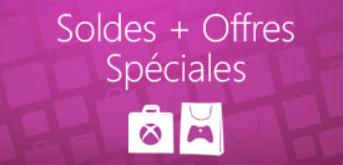 Soldes offres spéciales xbox