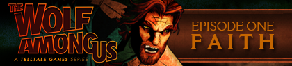 The Wolf Among Us Episode 1 Faith banniere