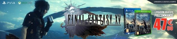 Rush on Game final Fantasy XV