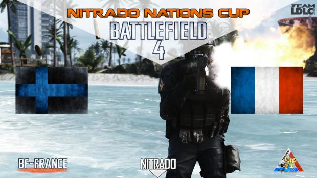 bannière france finlande battlefield4 bf4 nitrado nations cup