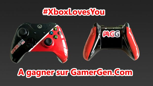 Concours XboxLoveYou Gamergen manettexbox one