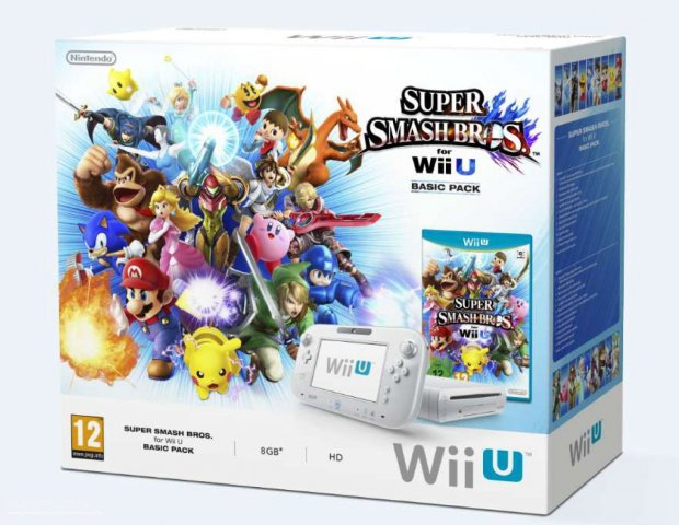 bundle wiiu super smash bros basic pack