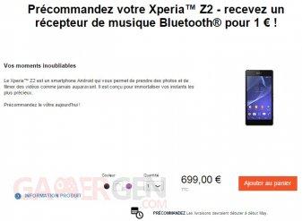 precommande-Sony-Xperia-Z2
