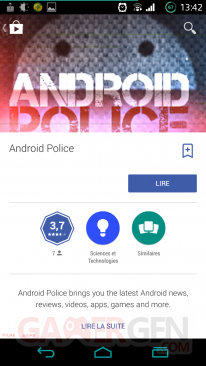 MAJ Google Play Store 4 9 Kiosque