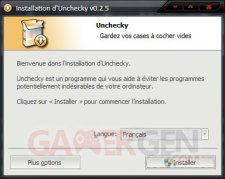 Unchecky-installation