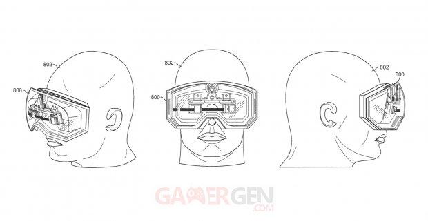 Apple brevet VR