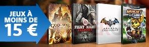 PS Store decembre 2015 jeux mois de 15 euros