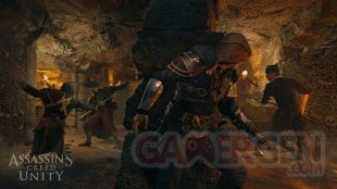 Assassins Creed Unity screen 84 COOP Catacombs GC2014
