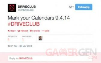 DRIVECLUB 04.03.2014
