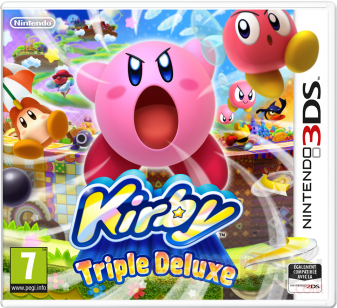 Kirby Triple Deluxe jaquette 05.03.2014