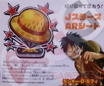 J Stars Victory VS Carte AR Luffy One Piece 22.01.2014
