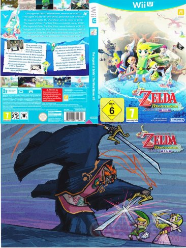 The Legend of Zelda The Wind Waker HD jaquete reversible 02.10.2013.