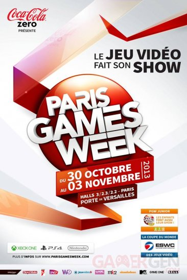 paris games week 2013 affiche