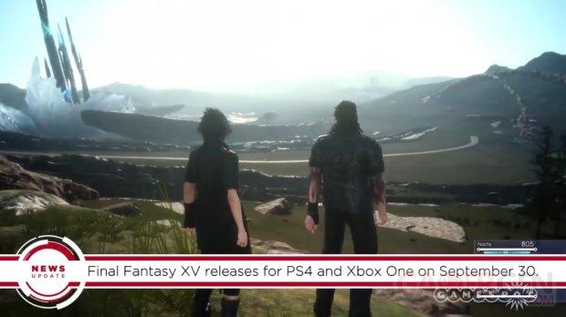 Final Fantasy XV date sortie fuite Gamestop