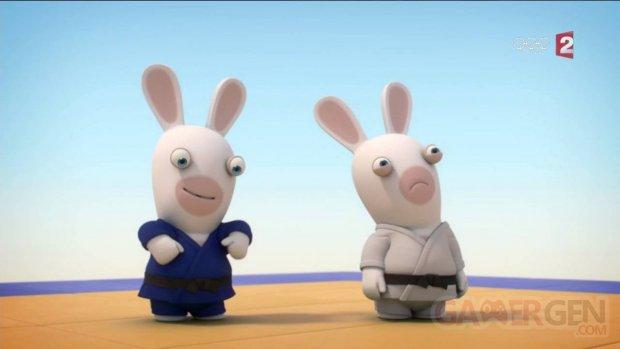Lapins Crétins judo