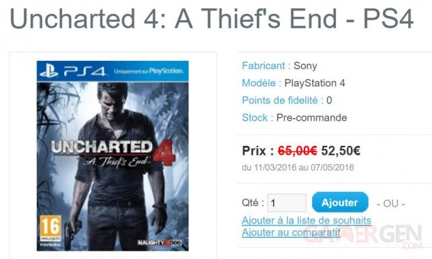 gamepod Uncharted 4 A Thief s End