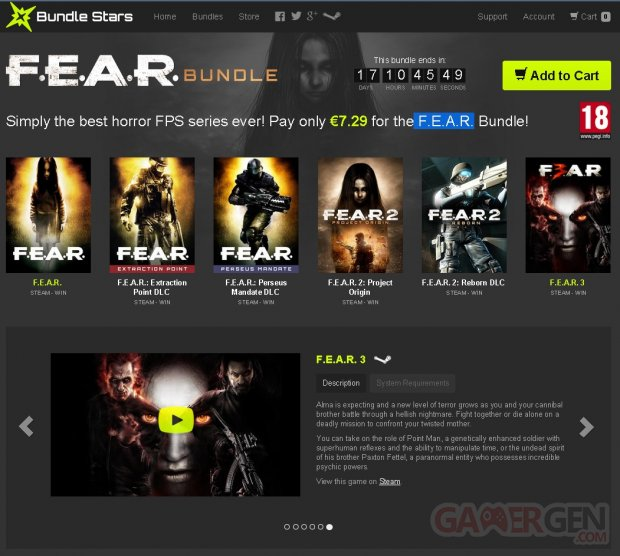 FEAR Bundle Stars
