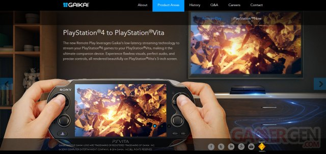 gaikai site officiel playstation