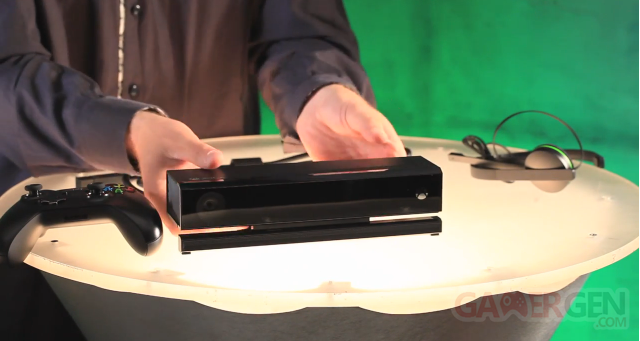 Xbox One - déballage manette Kinect