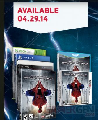 amazing spider-man 2 xbox one site officiel