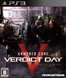 Armored Core Verdict Day jaquette 02.08.2013.