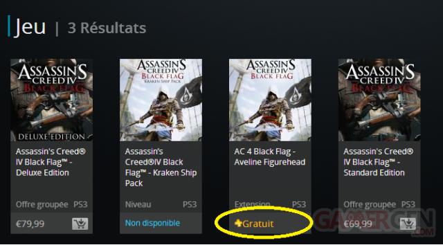 assassin creed black flag dlc aveline gratuit