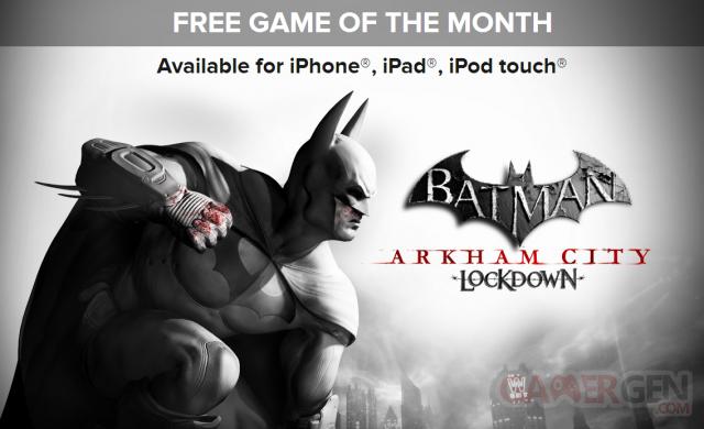 Batman Arkham City Lockdown gratuit jeu ios