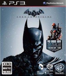 Batman Arkham Origins jaquette