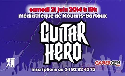 battle guitar hero mouans sartoux 2014