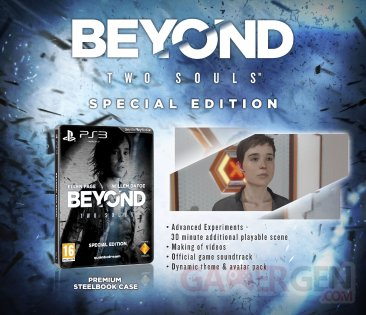 Beyond Two Souls Edition spe?ciale