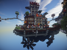 BioShock Infinite x Minecraft 10