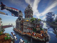 BioShock Infinite x Minecraft 4
