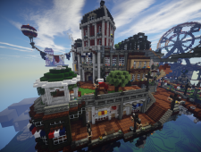 BioShock Infinite x Minecraft 6