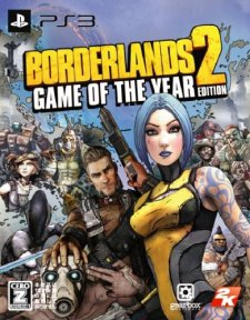 Borderlands 2 Game of the Years jaquette ps3