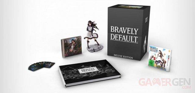 Bravely Default collector