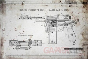 call of duty black ops II zombies origins Mauser C96