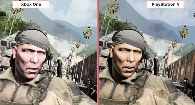 Call of Duty Ghosts difference graphique ps4 xbox one 13.11.2013.