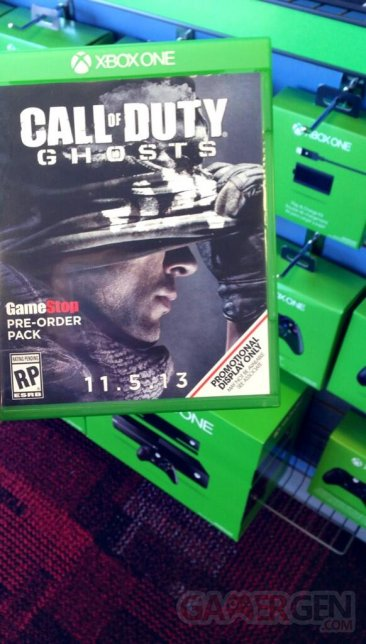 Call of Duty Ghosts Xbox One boite