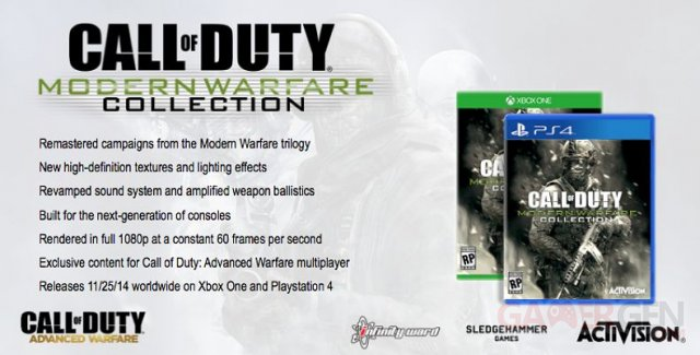 Call of Duty Modern Warfare Collection 19.05.2014