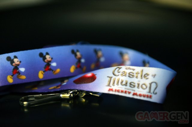 Castle of Illusion Starring Mickey Mouse concours Lanyards (5)