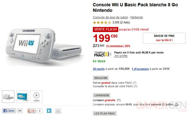 Console Nintendi WII U basic pack fanac 27.05.2013