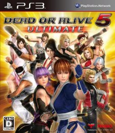 Dead or Alive 5 Ultimate jaquette 02.09.2013.