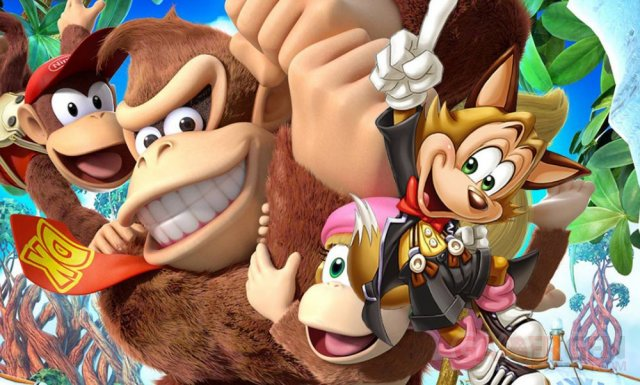 Donkey Kong Country Tropical Freeze famitsu 05.02.2014