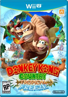 Donkey Kong Country Tropical Freeze jaquette nord americaine 29.08.2013.