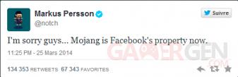 Facebook rache?te Mojang