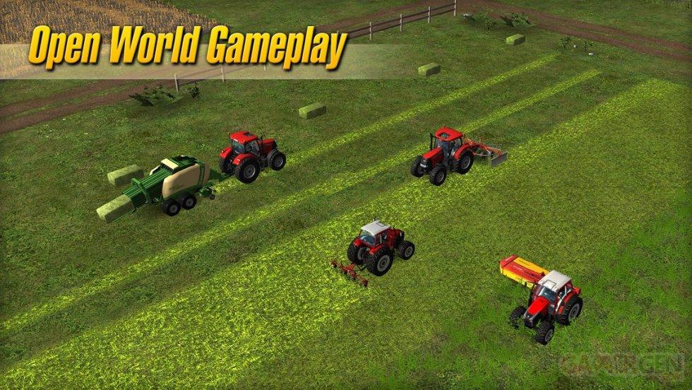 Images Farming Simulator 2014 cultive sa différence sur mobiles