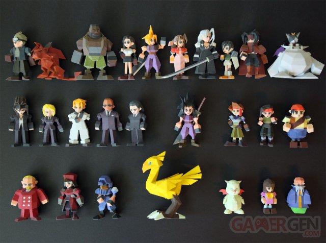 Final-Fantas-VII-FFVII-Figurines-Shapeways-3D